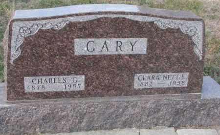 CARY, CHARLES G. - Stanton County, Nebraska | CHARLES G. CARY - Nebraska Gravestone Photos