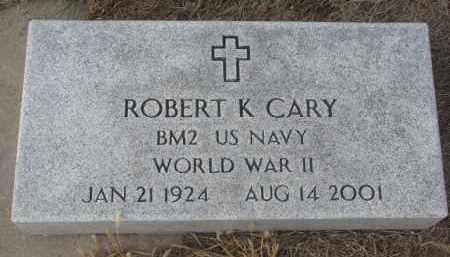 CARY, ROBERT K. - Stanton County, Nebraska | ROBERT K. CARY - Nebraska Gravestone Photos