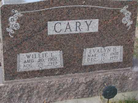 CARY, EVALYN H. - Stanton County, Nebraska   EVALYN H. CARY - Nebraska Gravestone Photos