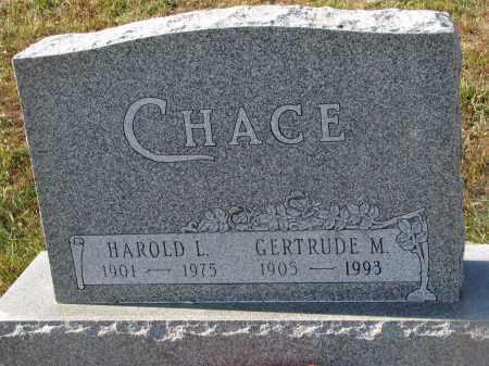CHACE, HAROLD L. - Stanton County, Nebraska | HAROLD L. CHACE - Nebraska Gravestone Photos