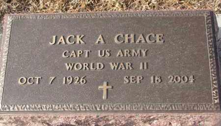 CHACE, JACK A. - Stanton County, Nebraska   JACK A. CHACE - Nebraska Gravestone Photos