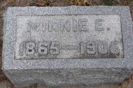 CHACE, MINNIE E. - Stanton County, Nebraska | MINNIE E. CHACE - Nebraska Gravestone Photos