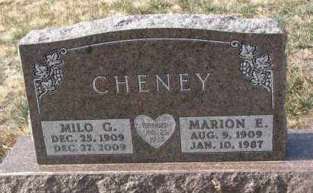 CHENEY, MILO G. - Stanton County, Nebraska | MILO G. CHENEY - Nebraska Gravestone Photos