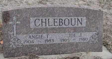 CHLEBOUN, JOE J. - Stanton County, Nebraska | JOE J. CHLEBOUN - Nebraska Gravestone Photos