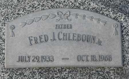 CHLEBOUN, FRED J. JR. - Stanton County, Nebraska | FRED J. JR. CHLEBOUN - Nebraska Gravestone Photos