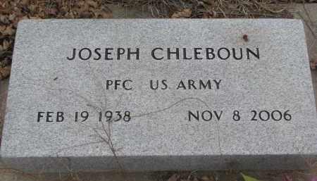 CHLEBOUN, JOSEPH (MILITARY) - Stanton County, Nebraska | JOSEPH (MILITARY) CHLEBOUN - Nebraska Gravestone Photos