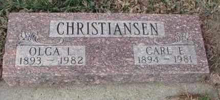 CHRISTIANSEN, CARL E. - Stanton County, Nebraska   CARL E. CHRISTIANSEN - Nebraska Gravestone Photos