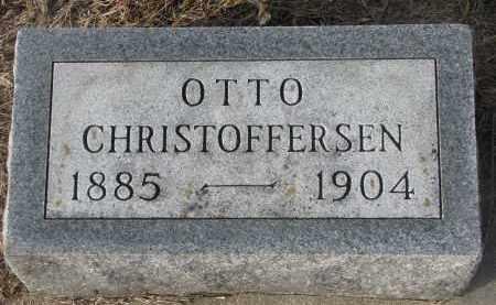 CHRISTOFFERSEN, OTTO - Stanton County, Nebraska   OTTO CHRISTOFFERSEN - Nebraska Gravestone Photos