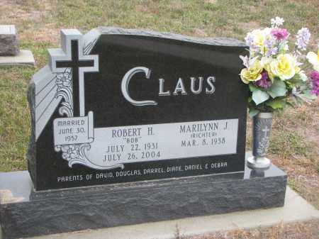 RICHTER CLAUS, MARILYN J. - Stanton County, Nebraska | MARILYN J. RICHTER CLAUS - Nebraska Gravestone Photos