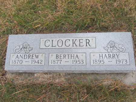 CLOCKER, ANDREW - Stanton County, Nebraska | ANDREW CLOCKER - Nebraska Gravestone Photos