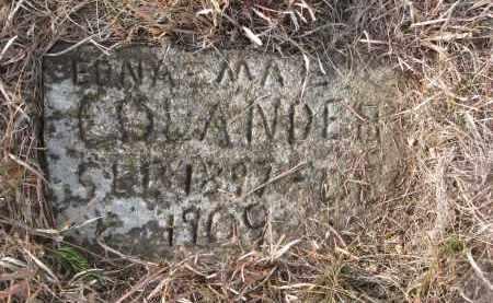 COLANDER, EDNA MAE - Stanton County, Nebraska | EDNA MAE COLANDER - Nebraska Gravestone Photos