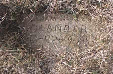COLANDER, WILLIAM HERALD - Stanton County, Nebraska | WILLIAM HERALD COLANDER - Nebraska Gravestone Photos