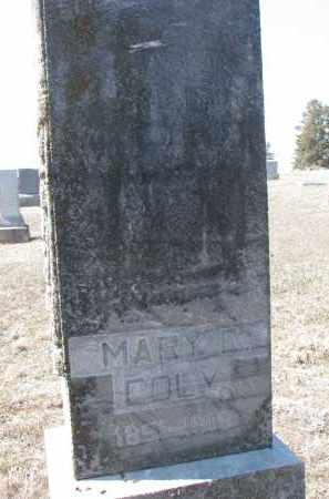 COLEY, MARY E. - Stanton County, Nebraska | MARY E. COLEY - Nebraska Gravestone Photos