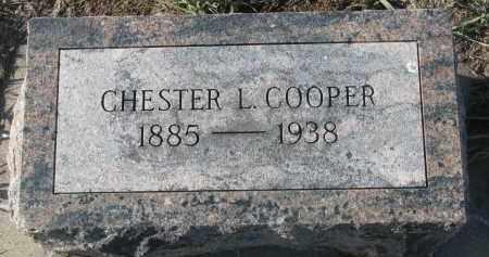 COOPER, CHESTER L. - Stanton County, Nebraska | CHESTER L. COOPER - Nebraska Gravestone Photos