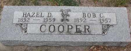 COOPER, HAZEL D. - Stanton County, Nebraska | HAZEL D. COOPER - Nebraska Gravestone Photos