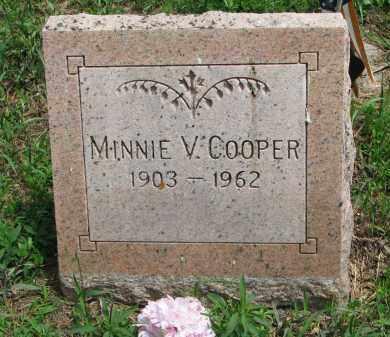 COOPER, MINNIE V. - Stanton County, Nebraska   MINNIE V. COOPER - Nebraska Gravestone Photos