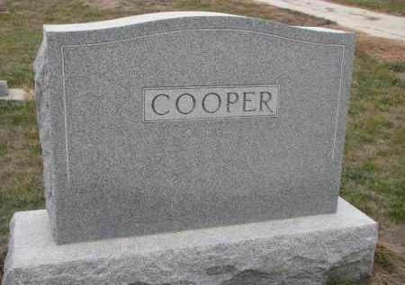 COOPER, PLOT STONE - Stanton County, Nebraska | PLOT STONE COOPER - Nebraska Gravestone Photos