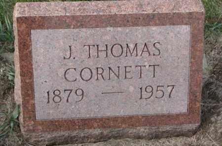 CORNETT, J. THOMAS - Stanton County, Nebraska | J. THOMAS CORNETT - Nebraska Gravestone Photos