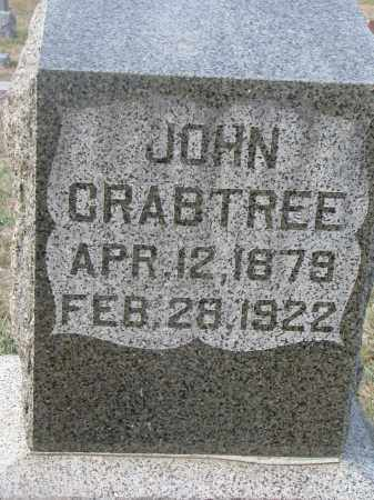 CRABTREE, JOHN - Stanton County, Nebraska | JOHN CRABTREE - Nebraska Gravestone Photos