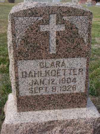 DAHLKOETTER, CLARA - Stanton County, Nebraska | CLARA DAHLKOETTER - Nebraska Gravestone Photos