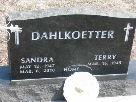 DAHLKOETTER, SANDRA - Stanton County, Nebraska | SANDRA DAHLKOETTER - Nebraska Gravestone Photos
