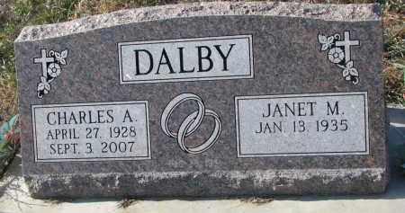 DALBY, JANET M. - Stanton County, Nebraska   JANET M. DALBY - Nebraska Gravestone Photos