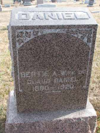 DANIEL, BERTIE A. - Stanton County, Nebraska   BERTIE A. DANIEL - Nebraska Gravestone Photos