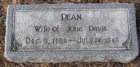 DAVIS, DEAN - Stanton County, Nebraska | DEAN DAVIS - Nebraska Gravestone Photos
