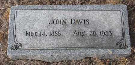 DAVIS, JOHN - Stanton County, Nebraska | JOHN DAVIS - Nebraska Gravestone Photos