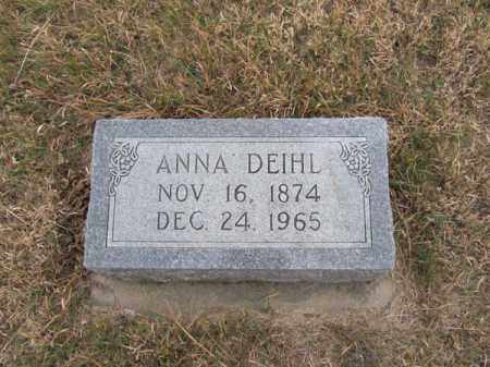 DEIHL, ANNA - Stanton County, Nebraska | ANNA DEIHL - Nebraska Gravestone Photos