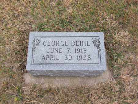 DEIHL, GEORGE - Stanton County, Nebraska | GEORGE DEIHL - Nebraska Gravestone Photos