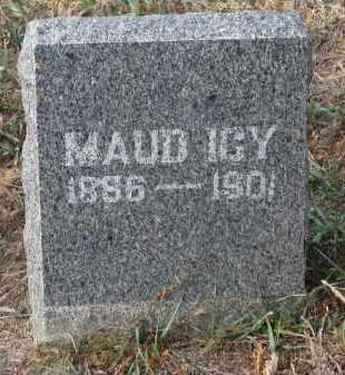 DENNEY, MAUD ICY - Stanton County, Nebraska | MAUD ICY DENNEY - Nebraska Gravestone Photos