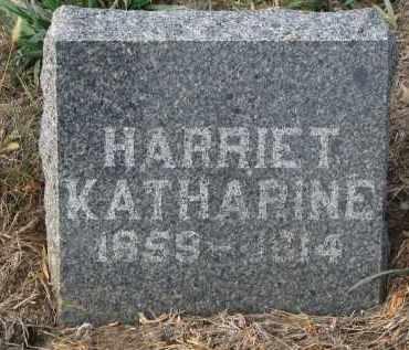 DENNEY, HARRIET KATHARINE - Stanton County, Nebraska   HARRIET KATHARINE DENNEY - Nebraska Gravestone Photos