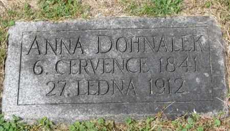 DOHNALEK, ANNA - Stanton County, Nebraska   ANNA DOHNALEK - Nebraska Gravestone Photos