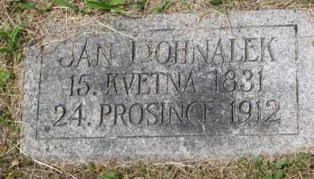 DOHNALEK, JAN - Stanton County, Nebraska | JAN DOHNALEK - Nebraska Gravestone Photos