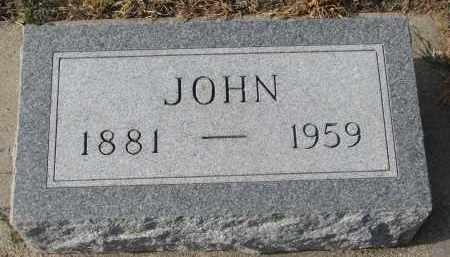 DOHREN, JOHN - Stanton County, Nebraska | JOHN DOHREN - Nebraska Gravestone Photos