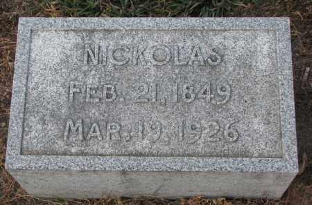DOHREN, NICKOLAS - Stanton County, Nebraska   NICKOLAS DOHREN - Nebraska Gravestone Photos
