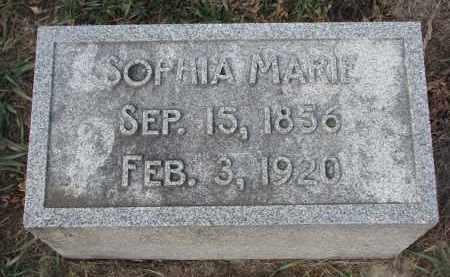 DOHREN, SOPHIA MARIE - Stanton County, Nebraska | SOPHIA MARIE DOHREN - Nebraska Gravestone Photos