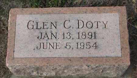 DOTY, GLEN C. - Stanton County, Nebraska | GLEN C. DOTY - Nebraska Gravestone Photos