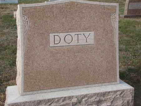 DOTY, PLOT STONE - Stanton County, Nebraska   PLOT STONE DOTY - Nebraska Gravestone Photos