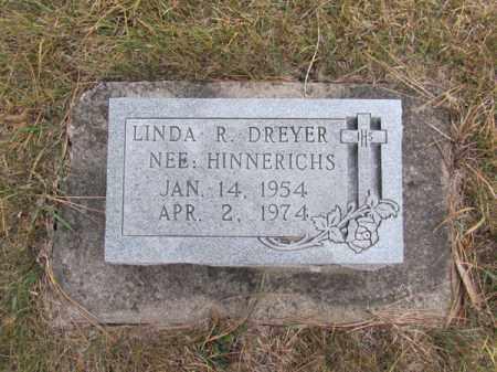 DREYER, LINDA R - Stanton County, Nebraska | LINDA R DREYER - Nebraska Gravestone Photos