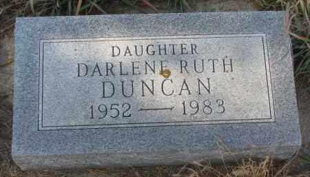 DUNCAN, DARLENE RUTH - Stanton County, Nebraska | DARLENE RUTH DUNCAN - Nebraska Gravestone Photos