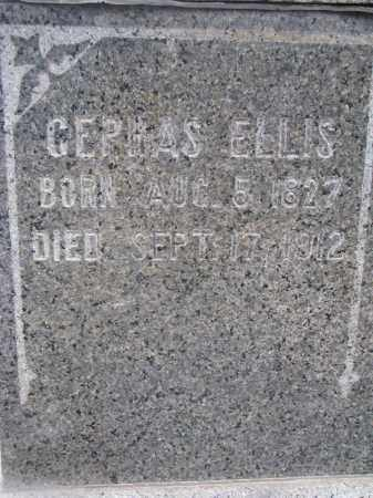 ELLIS, CERHAS (CLOSEUP) - Stanton County, Nebraska | CERHAS (CLOSEUP) ELLIS - Nebraska Gravestone Photos