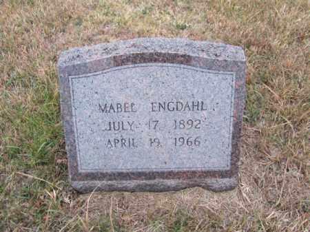 ENGDAHL, MABEL - Stanton County, Nebraska | MABEL ENGDAHL - Nebraska Gravestone Photos