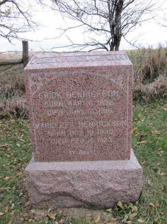 ERICKSON, MARGARET - Stanton County, Nebraska | MARGARET ERICKSON - Nebraska Gravestone Photos