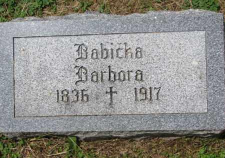 ERYCHLEB, BARBORA - Stanton County, Nebraska | BARBORA ERYCHLEB - Nebraska Gravestone Photos