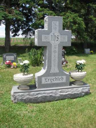 ERYCHLEB, FAMILY STONE - Stanton County, Nebraska   FAMILY STONE ERYCHLEB - Nebraska Gravestone Photos