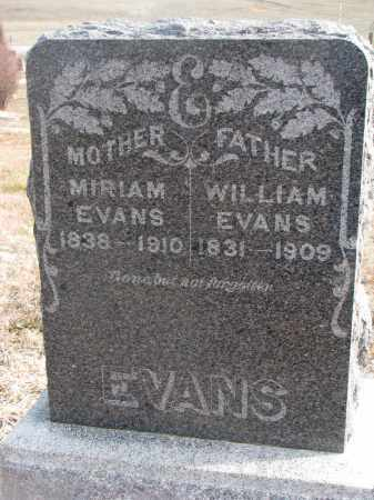 EVANS, WILLIAM - Stanton County, Nebraska | WILLIAM EVANS - Nebraska Gravestone Photos