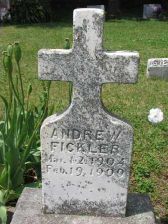FICKLER, ANDREW - Stanton County, Nebraska | ANDREW FICKLER - Nebraska Gravestone Photos
