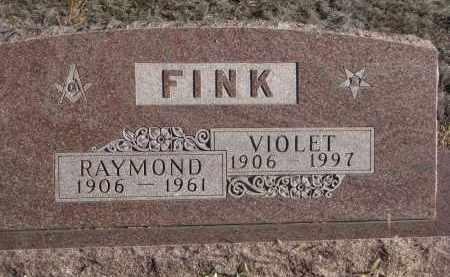 FINK, RAYMOND - Stanton County, Nebraska   RAYMOND FINK - Nebraska Gravestone Photos